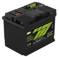 Батарея аккумуляторная 777 GREEN 12В 60А/ч 500А прямая поляр. стандартные клеммы