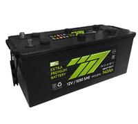 Батарея аккумуляторная 777 GREEN 12В 140А/ч 1000А прямая поляр. стандартные клеммы