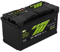 Батарея аккумуляторная 777 GREEN 12В 100А/ч 800А обратная поляр. стандартные клеммы