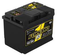 Батарея аккумуляторная FORVARD 12В 65А/ч 650А прямая поляр. стандартные клеммы