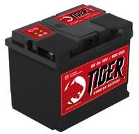 Батарея аккумуляторная TIGER 12В 60А/ч 500А прямая поляр. стандартные клеммы
