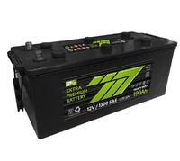 Батарея аккумуляторная 777 GREEN 12В 190А/ч 1220А обратная поляр. стандартные клеммы