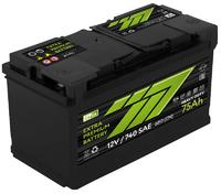 Батарея аккумуляторная 777 GREEN 12В 75А/ч 720А прямая поляр. стандартные клеммы