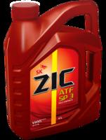 Автомобильное масло ZIC ATF SP-3 4л. NEW